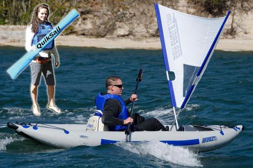 QuikSail Universal Kayak Sail - MainImage
