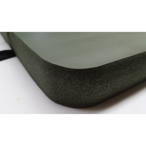 Foam Pad with Velcro Strap: Side View