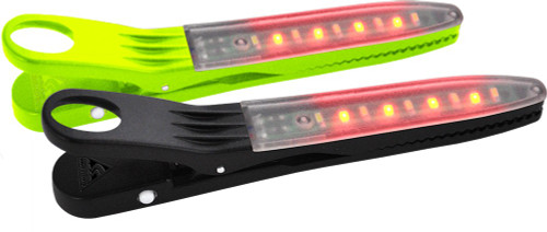 FireClip LED Light 2-Pack Grn/Blk-MainImage