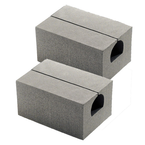 "7"" Deluxe Canoe Replacement Blocks/Pair"