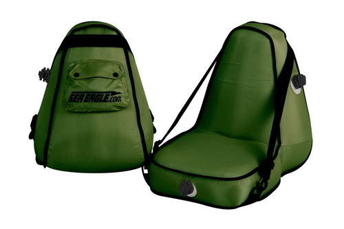 Deluxe Inflatable Seat - Green - Main Image