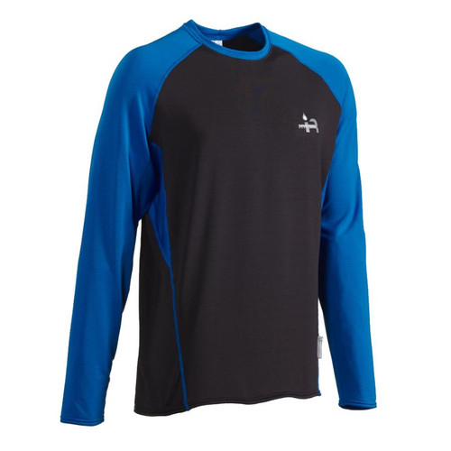2018 Long Sleeve K2 Shirt - Blue/Gray