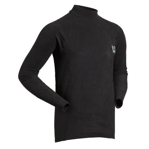 Long Sleeve Thick Skin - Black - MainImage