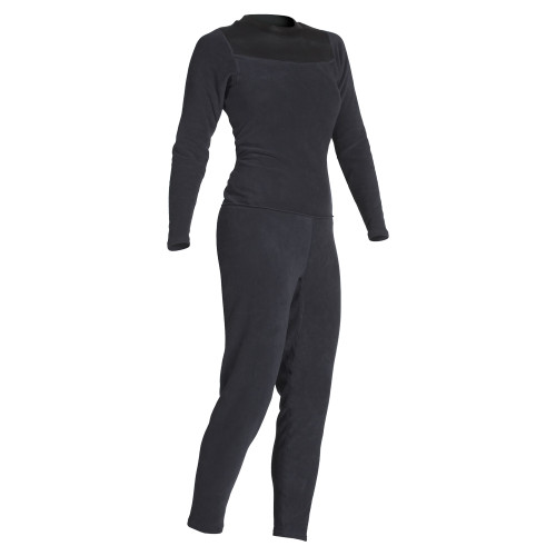 Women's Thick Skin Unionsuit - Black - MainImage