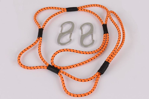 3' Orange Loop Rope - Main Image