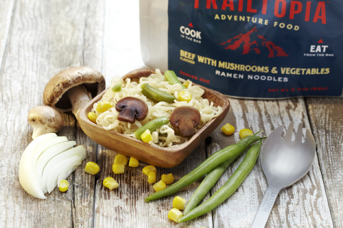 Ramen Noodles - Beef flavored with Vegetables and Mushrooms - MainImage