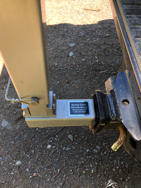 Replacement Aluminum Receiver for Double Hitch Rack - MainImage