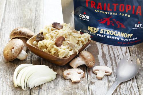 Gluten Free Ramen Noodles - Beef Flavored Stroganoff - MainImage