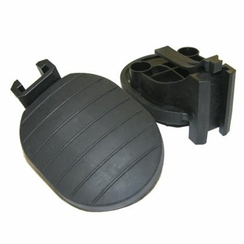 Padded Foot Brace Pedals - Pair