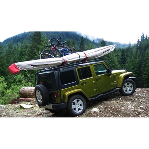 Big Kahuna Kayak Cover on Cartop