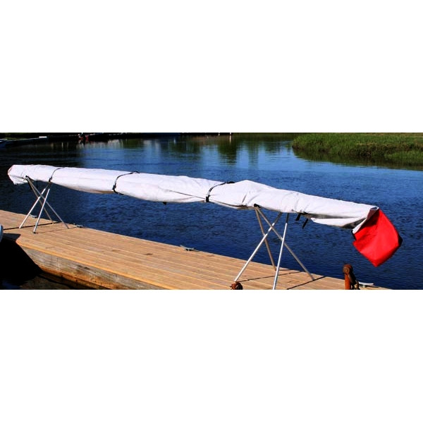 Moster Kayak Cover in Use