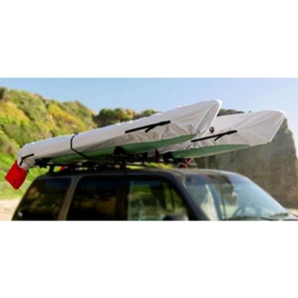 Punk Kayak Cover on Cartop
