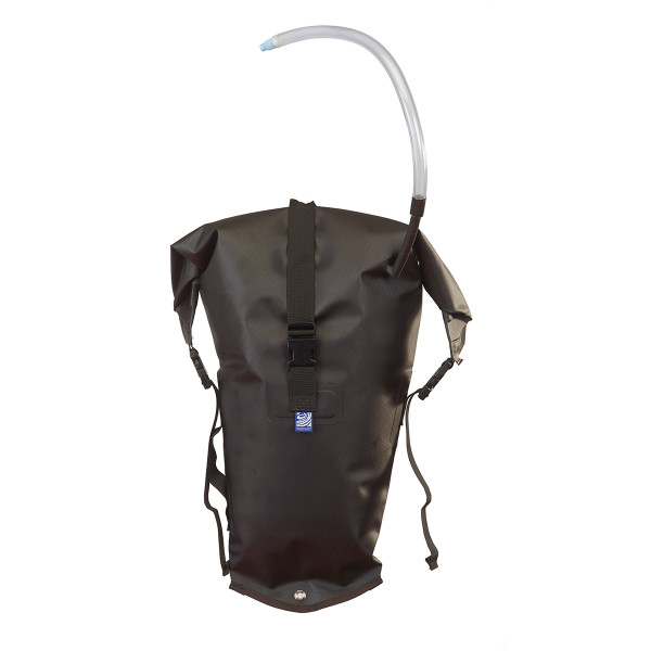 Salmon Stowfloat - Combination Safety Float/Dry Bag - Black