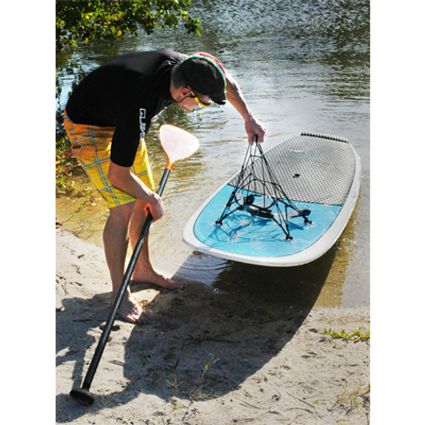 SUP Things Super Suction Cargo Net in use