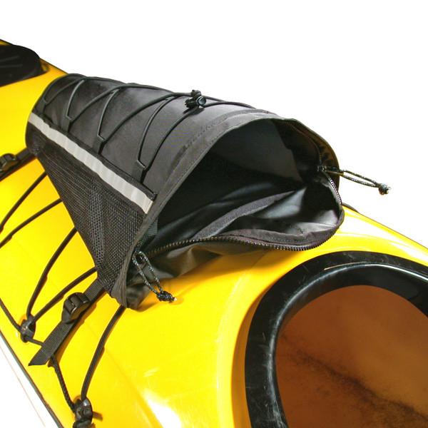 Peaked Deck Bag: Reflective, Black, Mounted
