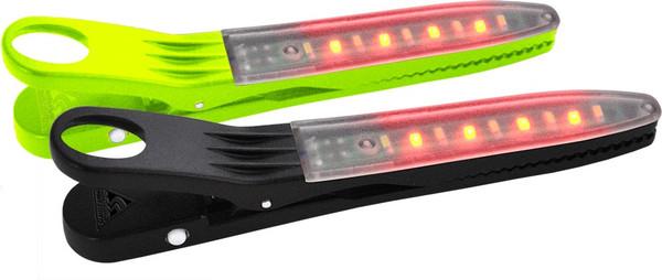 FireClip LED Light 2-Pack Grn/Blk-MainImage