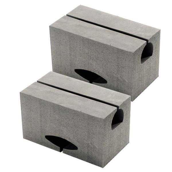 """7""""Universal Canoe Replacement Blocks/pair"""
