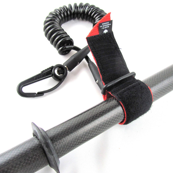 Coiled Paddle Leash - Detail