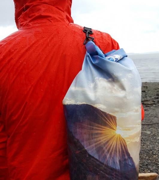 Yosemite National Park Dry Bag - in use