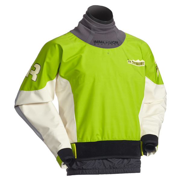7 Figure Dry Top - GreenFlash - Front View
