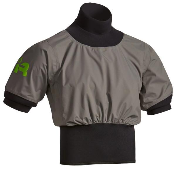 Short Sleeve Nano Paddle Jacket - Charcoal - Front