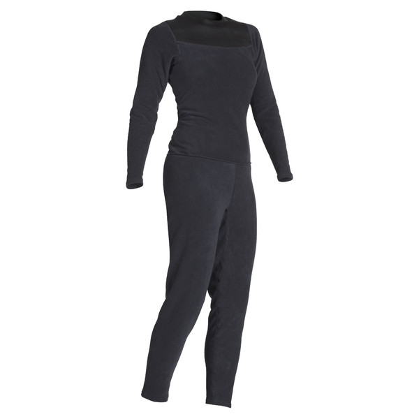 Women's Thick Skin Unionsuit - Black - MainImage