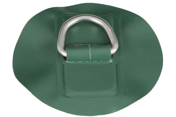 D-Ring with Glue- Green - Main Image