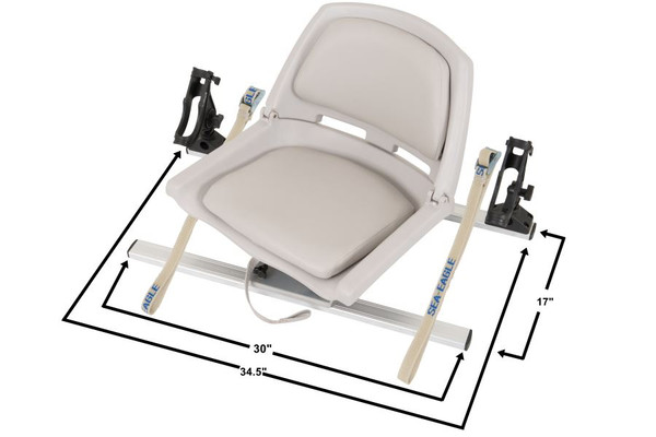 Swivel Seat Fishing Rig with Scotty Rod Holders - Main Image