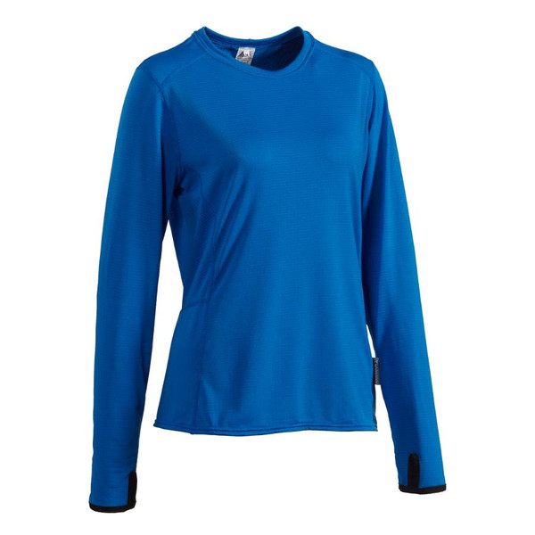 Women's Long Sleeve K2 T-Shirt - Atomic Blue