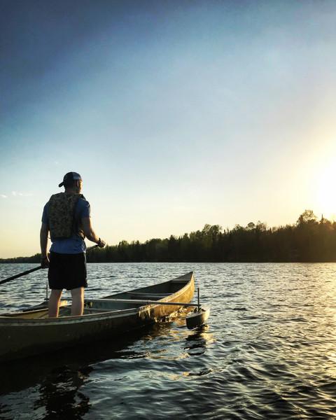Canoe Stabilizer Float Package - MainImage