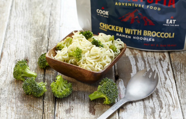 Ramen Noodles - Chicken Flavored with Broccoli - MainIamge