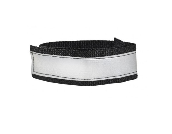 Reflective Ankle Strap - MainImage - Silver