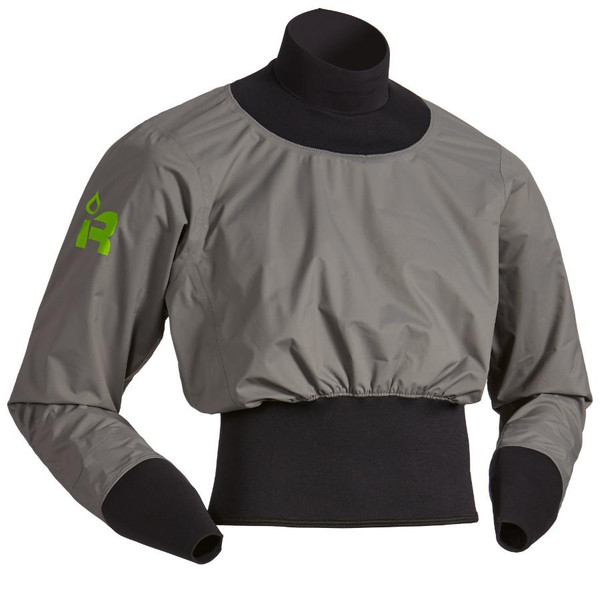 Long Sleeve Nano Paddle Jacket - Charcoal - MainImage