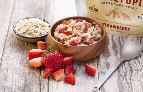 Strawberry Oatmeal - GF - MainImage