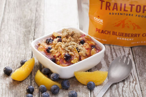 Peach Blueberry Crisp - MainImage