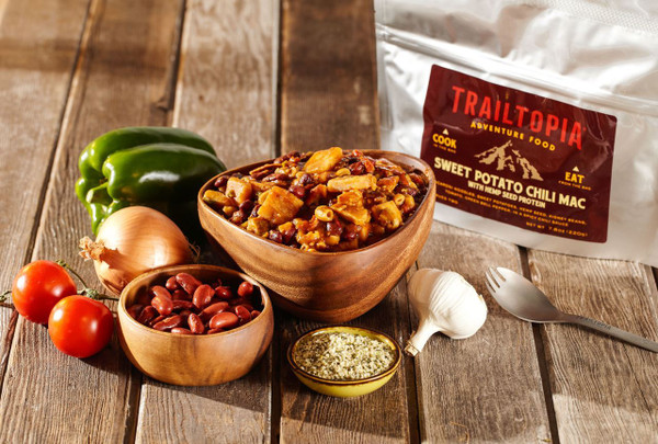 Sweet Potato Chili Mac with Hemp Seed Protein - MainImage