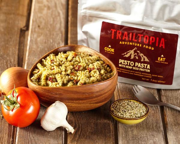 Pesto Pasta with Hemp Seed Protein - MainImage