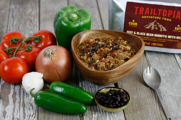Beef and Black Bean Burrito - GF - MainImage
