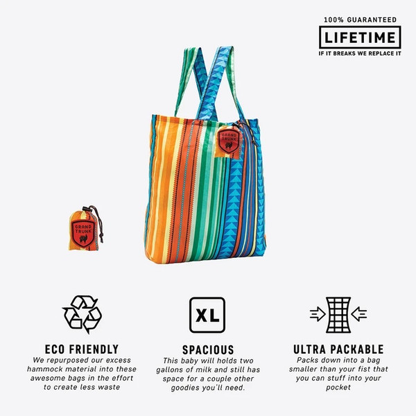 Tote Ally Awesome Travel Tote Bag - Carbo - MainImage