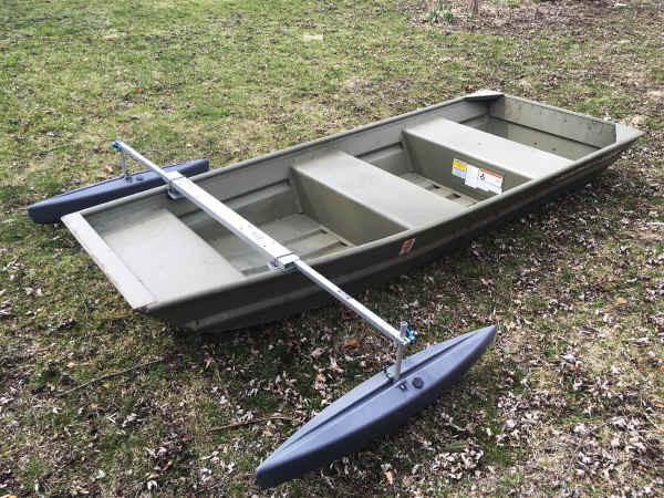HD Jon Boat Stabilizer Complete Package