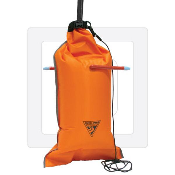 99% PVC Free Dual-Chamber Paddle Float