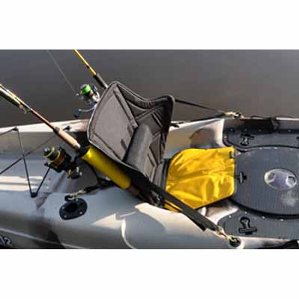 Big Catch High Back Kayak Fishing Seat with Lumbar Support