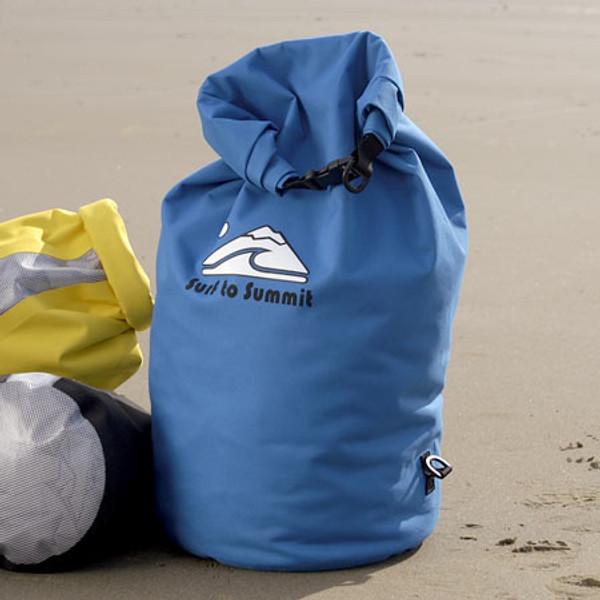 Large Blue Dry Bag Closed