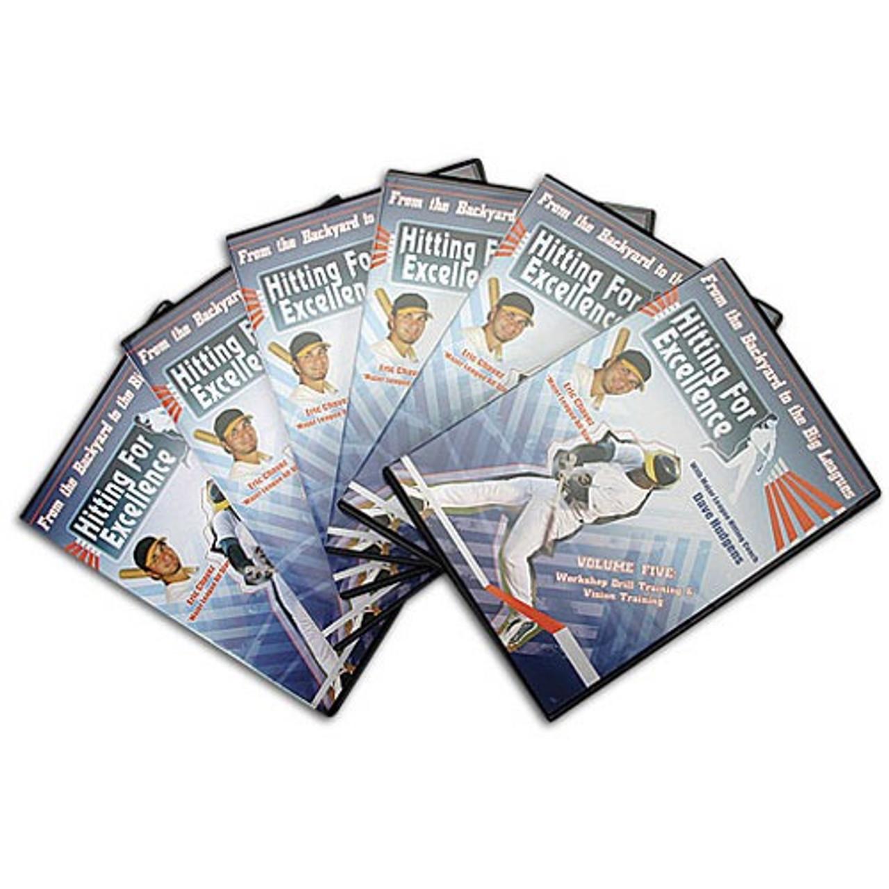 Dave Hudgens Hitting fror Excellence 6 DVD Complete Set