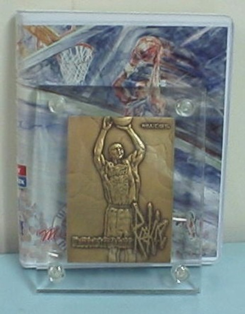 Highland Mint 1996 Damon Stoudamire Bronze Rookie Card
