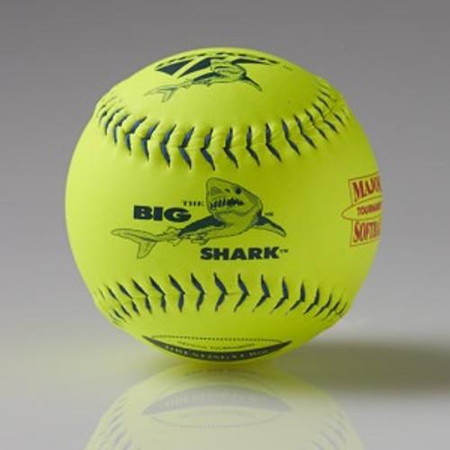 """Decker Blue Big Shark 12"""" Super Grip Softball"""