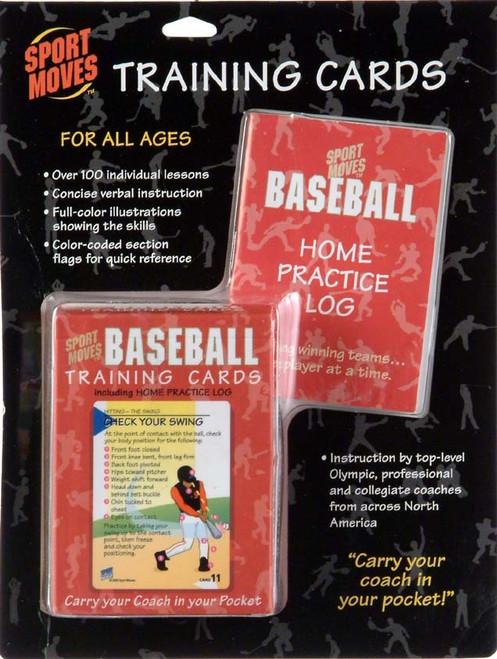 Sport Moves Baseball Training Cards