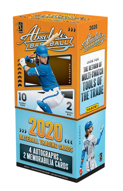 2020 Panini Absolute Baseball Hobby Box