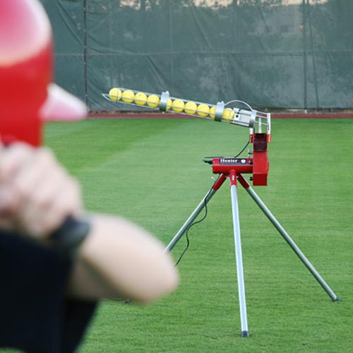 Heater Real 12 inch Softball Machine With Ball Feeder