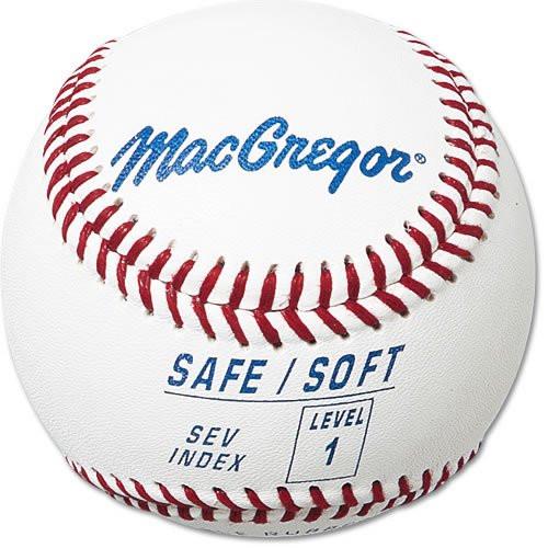 MacGregor Safe/Soft Baseball (Level 1, Ages 5 - 7)